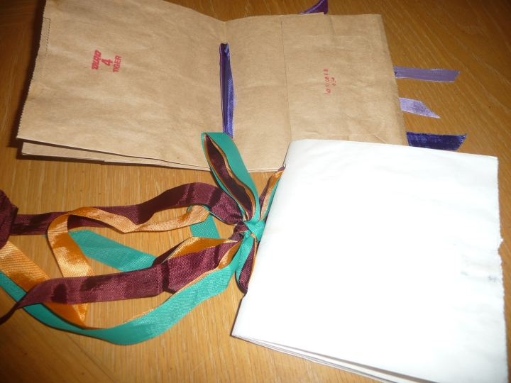 Use any color paper bags